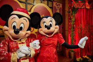Mickey Minnie Lunar New Year