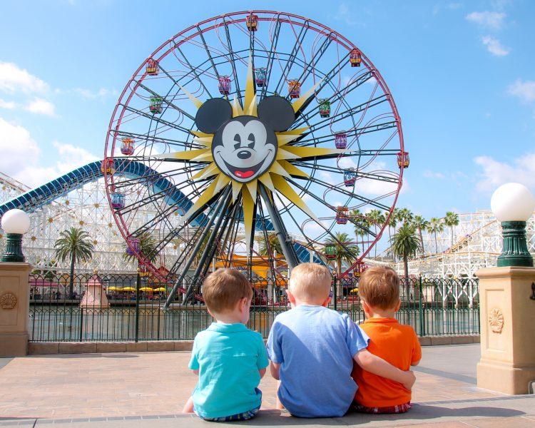 Kids in Disney California Adventure