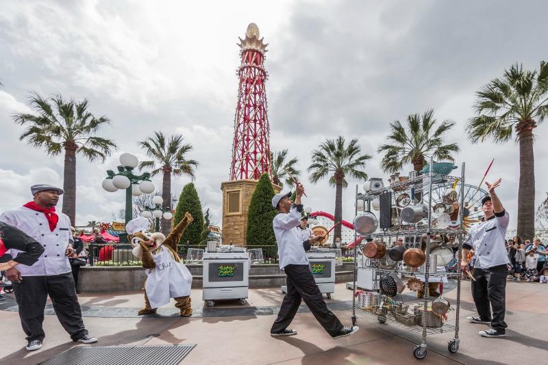 Disney California Adventure Food and Wine Jammin Chefs