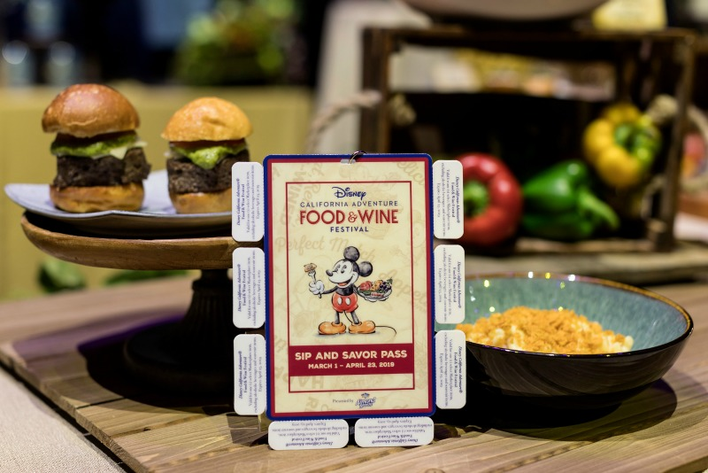 Disney California Adventure Food and Wine Sip Savor Pass